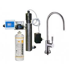 rubinetto water sistema di filtrazione everpure completo di sistema uv 12 watt