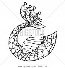 swan tribal vector tattoo images illustrations vectors swan