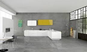 cuisine moderne jaune cuisines cuisine ultra moderne jaune gris idée déco cuisine une