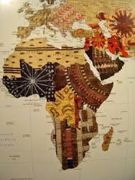 africa map fabric when i went to africa my was whole when i left africa i