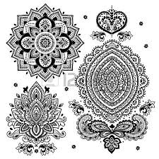 aztec clipart mandala pencil and in color aztec clipart mandala