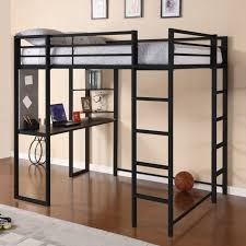 Bunk Bed Deals Modern Size Metal Loft Beds For Adults With Desk