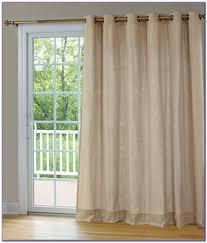 Patio Door Curtain Rod by Inspirational Patio Doors As Wells As Curtains Plus Patio Doors