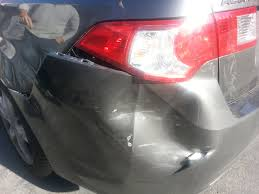 nissan sentra quarter panel before u0026 after collision repair at aqa 2010 acura tsx welcome to
