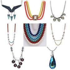 crystals fashion necklace images Swarovski crystals diy necklaces fashion jewellery at rs 1099 jpg