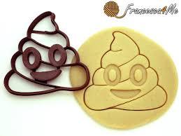 this emoji cookie cutter makes cookies cookie cutters