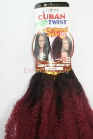 cuban twist hair shake n go equal cuban twist braid 16 long double strand style