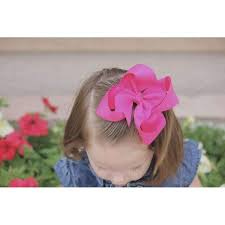 hair bows 5 inch solid color hair bows the solid bow