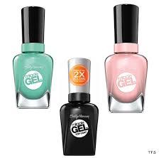 beauty find sally hansen miracle gel nail color u0026 topcoat