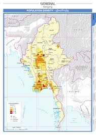 Population Density Map Of The World by Overview Agricultural Atlas Of The Union Of Myanmar