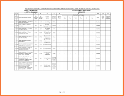 daily sample financial analysis report excel financial report gift