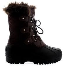 womens walking boots uk womens faux fur tactical mountain waterproof hiker mid calf