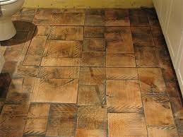 log floor reclaimed log end wood tile flooring diy wood tile