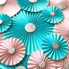 paper fan backdrop 11 best paper fan backdrop paper rosettes images on