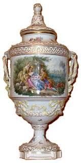 Meissen Vase Value Dresden Porcelain And The Dresden Crown Mark