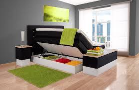 Schlafzimmer Komplett Mit Boxspringbett Boxspringbett Mit Bettkasten Sophie 7 Zonen Taschenfederkern