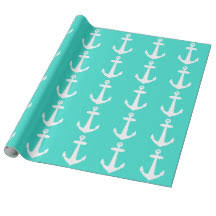 anchor wrapping paper nautical anchor wrapping paper zazzle