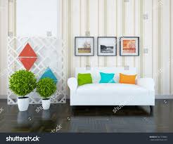 white room sofa living room interior stock illustration 561778843