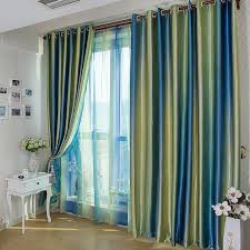 Designer Window Curtains Royal Blue Insulated Window Curtain By Print Blackout