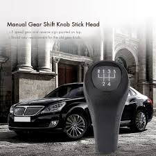 aliexpress com buy 5 speed manual gear shift knob stick head for