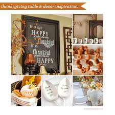 thanksgiving table and decor inspiration housley