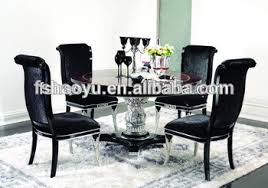 home design exquisite rotating dining home design lovely rotating dining table with centre black