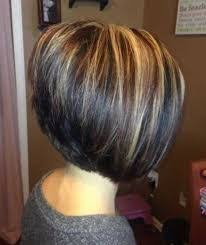 highlights for inverted bob chunky blonde highlights chunky lowlights on a short inverted bob