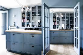light blue kitchen walls cabinets beautiful blue kitchen cabinet ideas