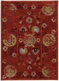 Red Area Rug by Sphinx Oriental Weavers Area Rugs Sedona Rugs 6386e Red Sedona