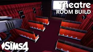 movie theater chairs for home the sims 4 room build theatre youtube