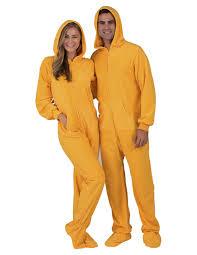 creamsicle hoodie one hooded footed pajamas one