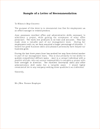academic resume example 7 letter of recommendation letter example academic resume template 7 letter of recommendation letter example