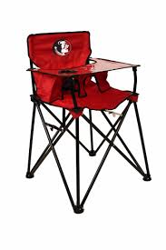 choose your ncaa team tailgating portable folding baby high chair