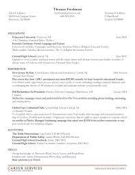Medical Student Resume Sample by Undergraduate Resume Sample Haadyaooverbayresort Com