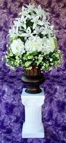 Altar Decorations Wedding Centerpieces White Silk Flowers Altar Decorations
