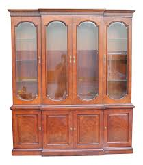 Antique Breakfront China Cabinet by Vintage U0026 Used Henredon China And Display Cabinets Chairish