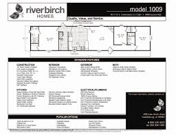 riverbirch homes single wide floor plans