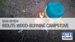 john muir fire quote gear review biolite stove socal hiker