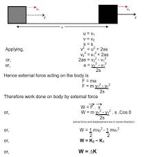 work energy and power conservation of energy collisions notes in