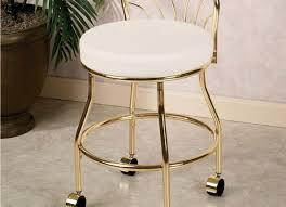 White Vanity Stool Stools Bathroom Vanity Chair Amazing Vanity Stools Amazon