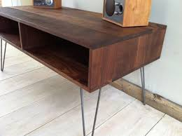 Mid Century Console Table Mid Century Console Table Solid Wooden Console Table Mid