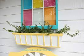 diy window flower boxes transformations from the heart window planter box makes it a trio