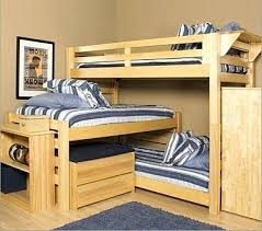3 Person Bunk Bed 3 Level Bunk Bed Medium Size Of 3 Level Bunk Bed Image Of Build