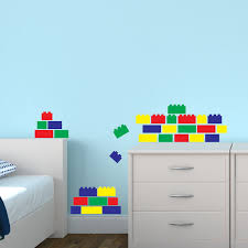 Kids Lego Room by Lego Wall Stickers For Kids Rooms Home Design