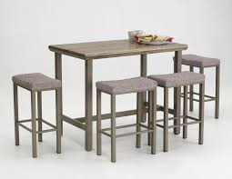 vintage dining kitchen design with pub style table sets 8 pieces