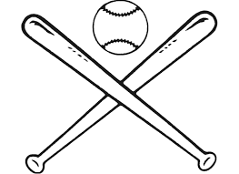 baseball bat baseball outline clipart clipart kid cliparting com