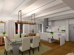 cucina sala pranzo cucina zona pranzo apartment ideas planner 5d