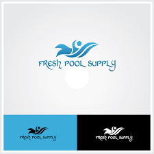 Swimming Logo Design by Bold Upmarket Logo Design For Fresh U0026 Clear Pool Service Inc By