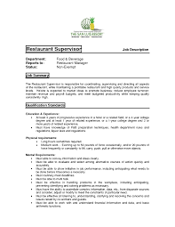 how to write roles and responsibilities in resume restaurant duties and responsibilities resume samples of resumes restaurant manager duties for resume best resume sample ski8