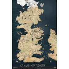 Ice And Fire Map A Song Of Ice And Fire Fridge Tv Tropes